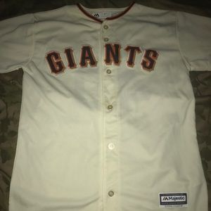 MLB SF Giants Bumgarner Jersey Sz: XL Youth 18/20